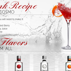 Ciroc Vodka E-Mail Blast