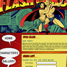 Flash Gordon Fansite